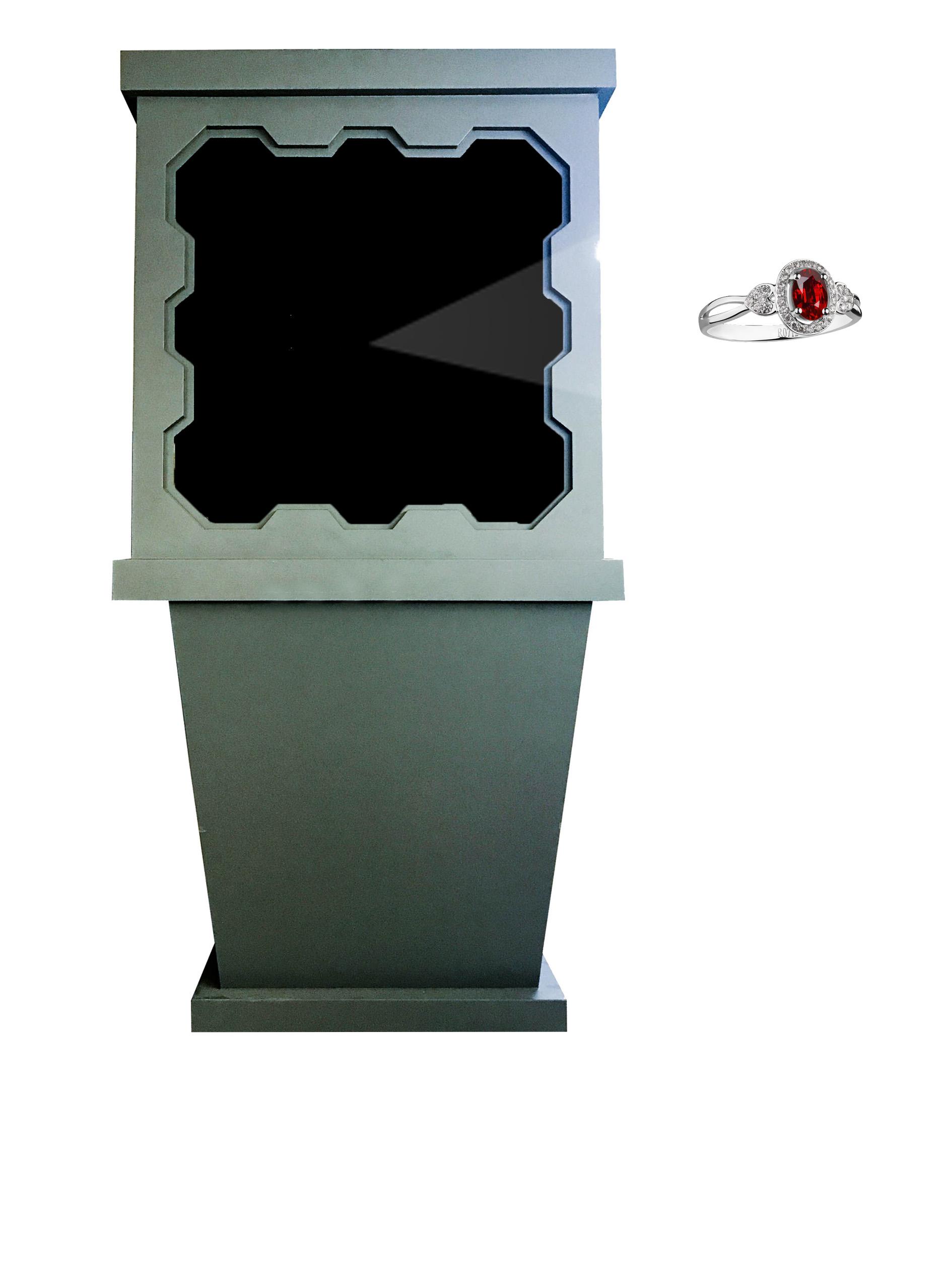 侧悬浮成像系统(空气成像)90型
