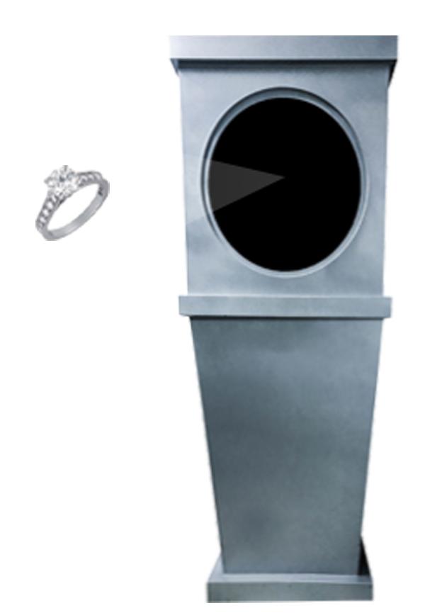 侧悬浮成像系统(空气成像)60型